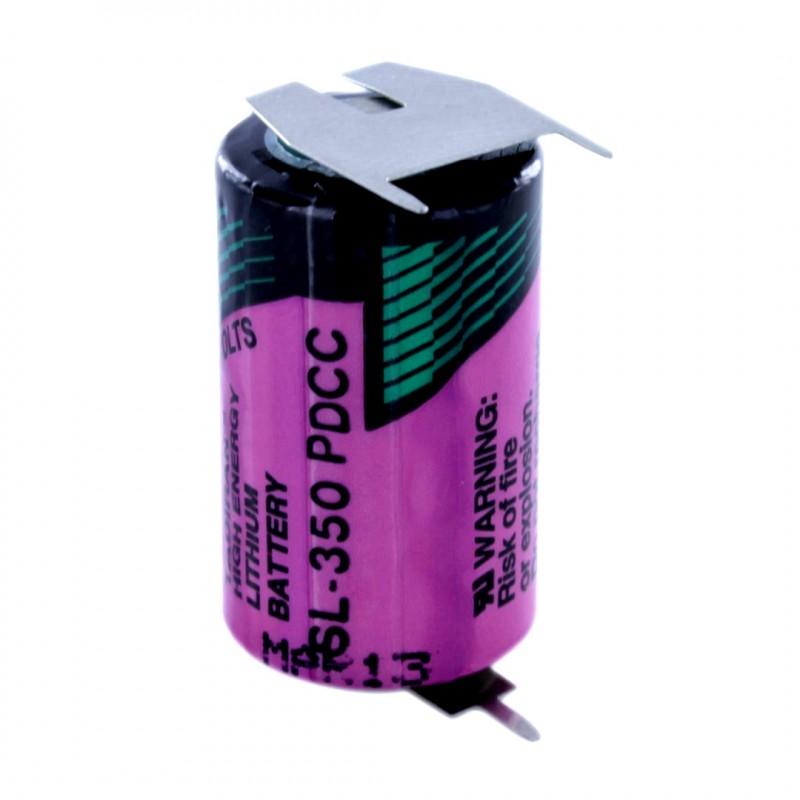Baterie litiu SL-350/PTP ½ AA 3,6 V 1,2 Ah