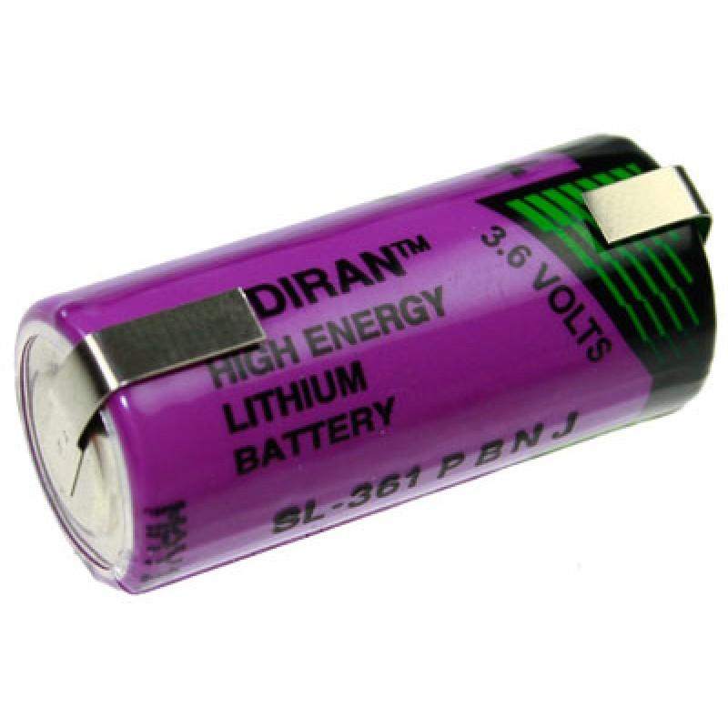 Baterie litiu Tadiran SL-361/T 2/3 AA 3,6 V 1,6 Ah