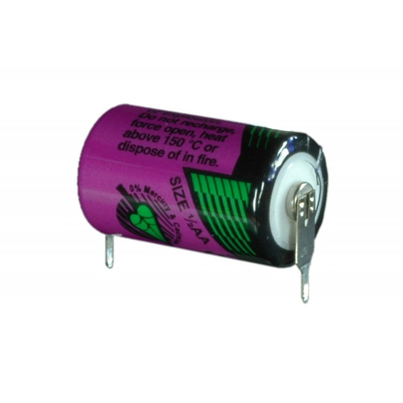 Baterie litiu Tadiran SL-550/PR  ½ AA 3,6 V 0,9 Ah