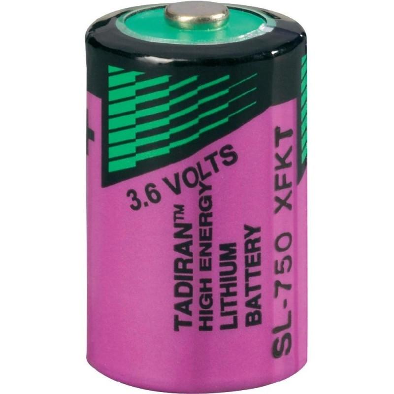 Baterie litiu Tadiran SL-750/S ½ AA 3,6V 1,1Ah