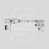 USB500AB-1M
