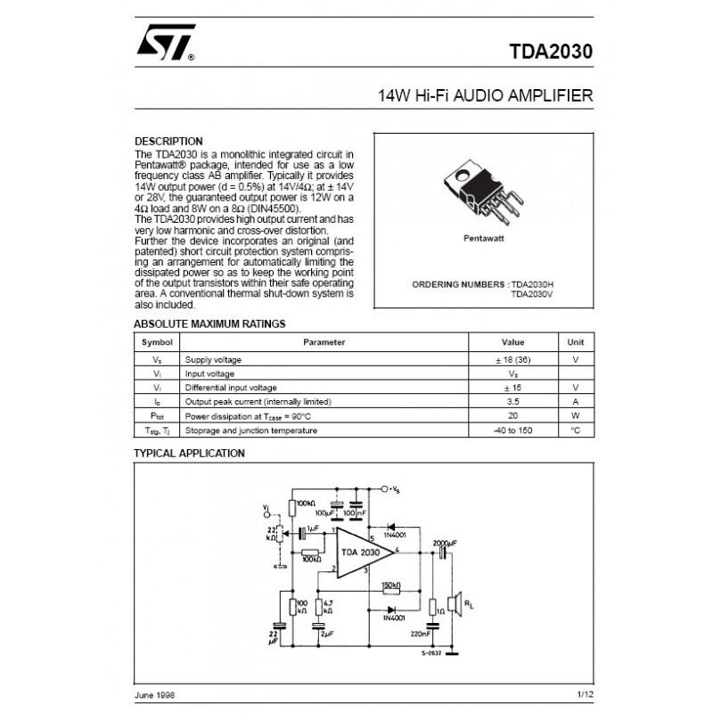 TDA2030V